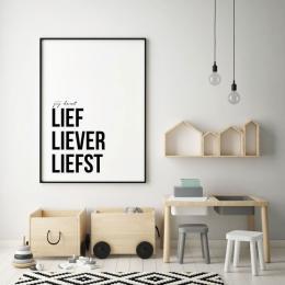 Poster Liefste