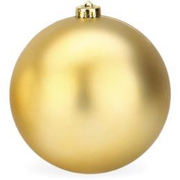 Kerstbal goud mat