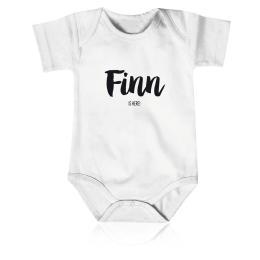 Geboorte rompertje Finn
