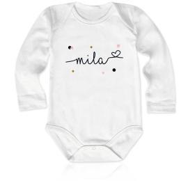 Geboorte rompertje Mila