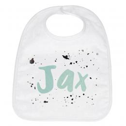 Geboorte slabbetje Jax